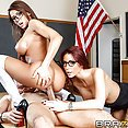 Madison Ivy and Monique Alexander School Threesome - free porn