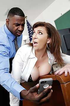 Teacher Gets Fucked By a Big Black Cock