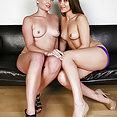 Dani Daniels and Nora Sky Girl Love - free porn