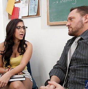 Big Ass Schoolgirl Fucks Her Teacher