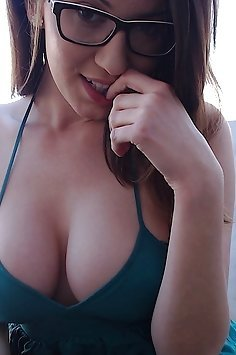 Deep Cleavage and Big Tits
