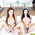 Busty Threesome With Katrina Jade and Marina VIsconti - image