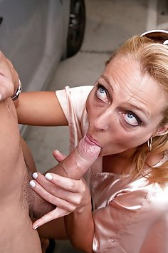 Brenda James Horny Cock Sucking MILF