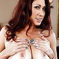 Busty Tiffany Mynx Cock Sucking Cougar - image