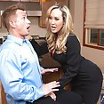 Brandi Love Getting Some Big Cock Action - image