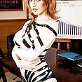 Hot Redhead With Big Tits Taped Up and Fucked - image