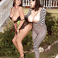 big tits lesbos - image