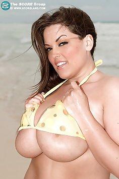 Bikini Shore Beach Boobs