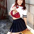 Busty Japanese Schoolgirl - image