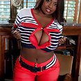 Busty Ebony Discovery - image
