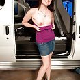 Cutie Gets Fucked in Mommys Minivan - image