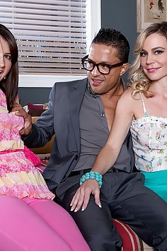 Olivias Milf Threesome