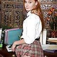 Schoolgirl Alex Tanner Nude - image