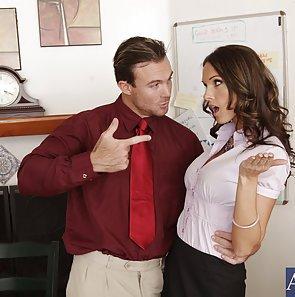 Office worker Takes a Cock Break