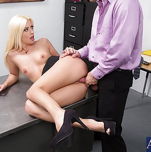 Jessie Volt Hot Horny Office Fuck