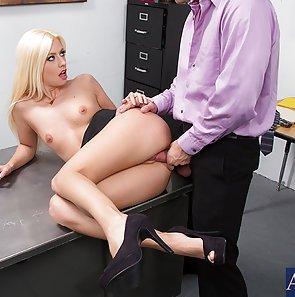 Jessie Volt Hot Horny Office Fuck