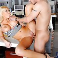 Summer Brielle Late Night Office Fuck - image