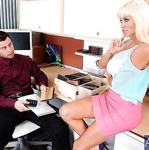 Office cubicle sex