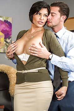 Wild Office MILF Fuck