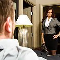 Sexy MILF Syren DeMer Gives PSE Hotel Sex - image