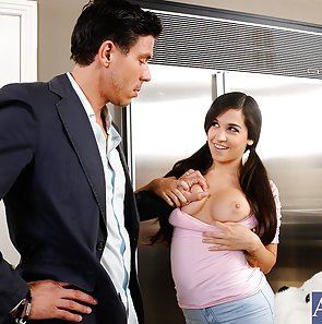 Naughty Babysitter Caroline Ray