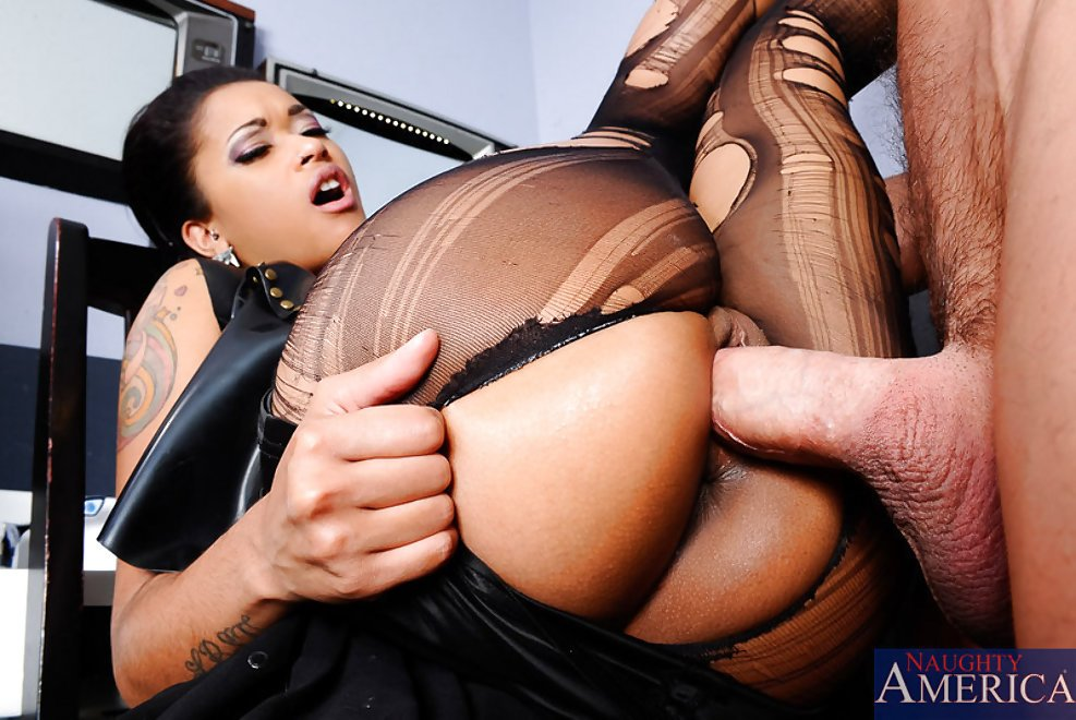 This Sexy Ebony Babe Is Ready For Anything
