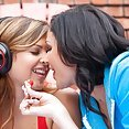 Hot Girls Kissing - image