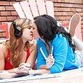 Hot Girls Kissing - image