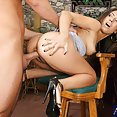 Latina Hotty Cheats With Bartender - image