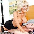 Horny MILF Tara Holiday Needs Young Cock - image