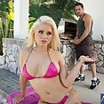 Hot Blond Does Hot Dogs and Hardons - image