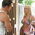 Bikini Babe Nikki Benz Boned - image