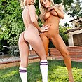 Threesome Aaliyah Love and Tasha Reign - image