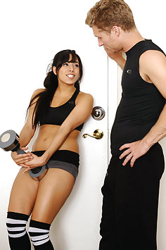 Gia Steel Pays Off Her Personal Trainer