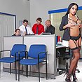 Latina Hotty Selena Sexy Office Fuck - image