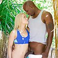 Sexy Blonde Cheats with Her BBC Trainer - image
