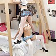 hot Nubiles get rowdy in the dorms - image