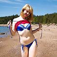 Aminora Tiny Tits Beach Nudes - image
