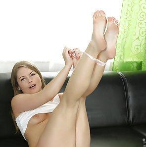 attractive Schoolgirl Alessandra Jane