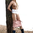 Olivia Devine Naked On The Beach - image