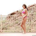 Cassidy Banks Gets Naked Outdoors - image