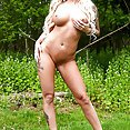 Czech stunner Jarushka Ross Boned Outdoors - image