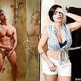 Stepmom Shay Fox Takes Care of His Cock - image