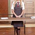 Horny Schoolgirl Vanessa Staylon - image