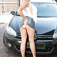 Katie Thornton At The Carwash - image