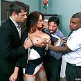 Bitchy Boss Tory Lane Fucked In Every Hole - image
