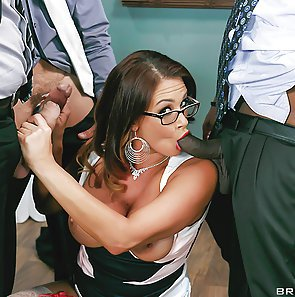 Bitchy Boss Tory Lane Fucked In Every Hole