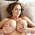 Step Son Plows Busty Step Mom's Hot Pussy - image