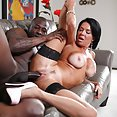 Veronica Avluv in Wife Breeders Black Cock Anal - image