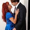 Vanessa Bella Banged Redhead - image